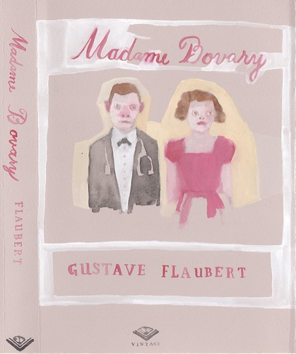 "Jennie Ottinger ""Madame Bovary (Book Cover)"""