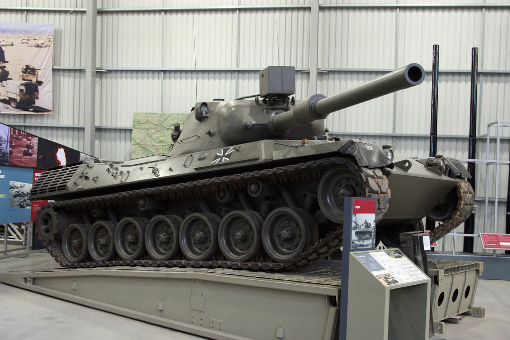 The Tank Museum, Bovington - 1962 German Leopard 1 Main Ba