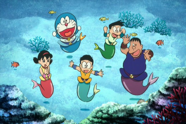 Doraemon: Nobitas Great Battle of the Mermaid King (2010