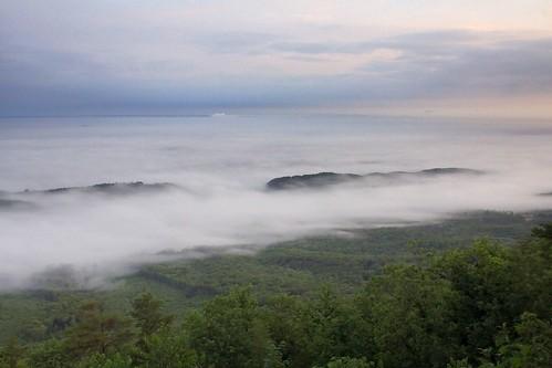 fog sunrise tennessee nationalforest valley cherokee soe cherokeenationalforest chilhoweemountain shieldofexcellence ultimateshot