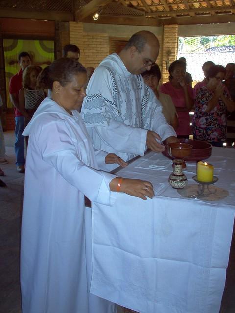 Celebração de domingo no Mosteiro