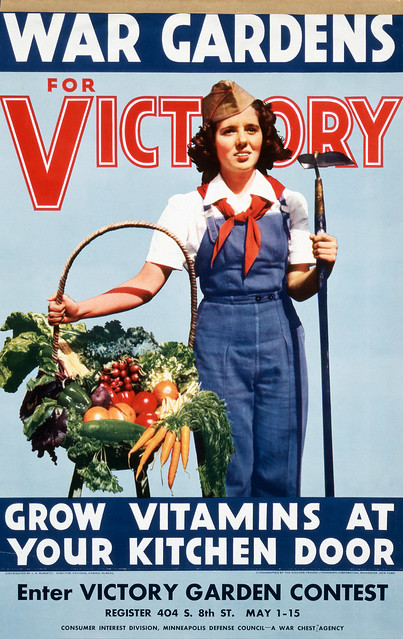 War Gardens for Victory Grow vitamins at your kitchen door