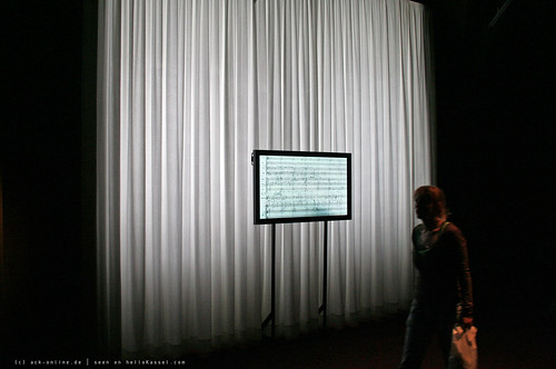 documenta 12 | Olga Neuwirth / ... miramondo multiplo ... | 2007 | Neue Galerie | by A-C-K