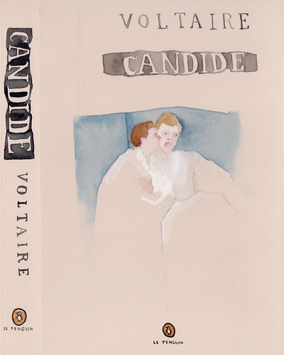 "Jennie Ottinger ""Candide (book cover)"""
