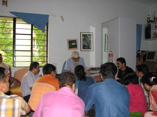 Meeting at Anil Awachat's place on 24 June 2007