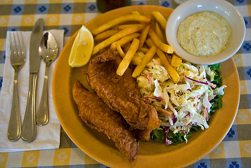 Fish and Chips at the Dipsea Cafe | by pointnshoot