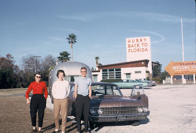 Florida State line, December 1963