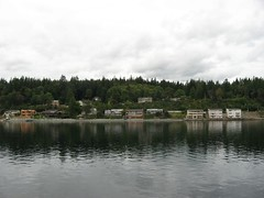 Bainbridge Island, Bremerton-Seattle Ferry, Washington   by Ken Lund