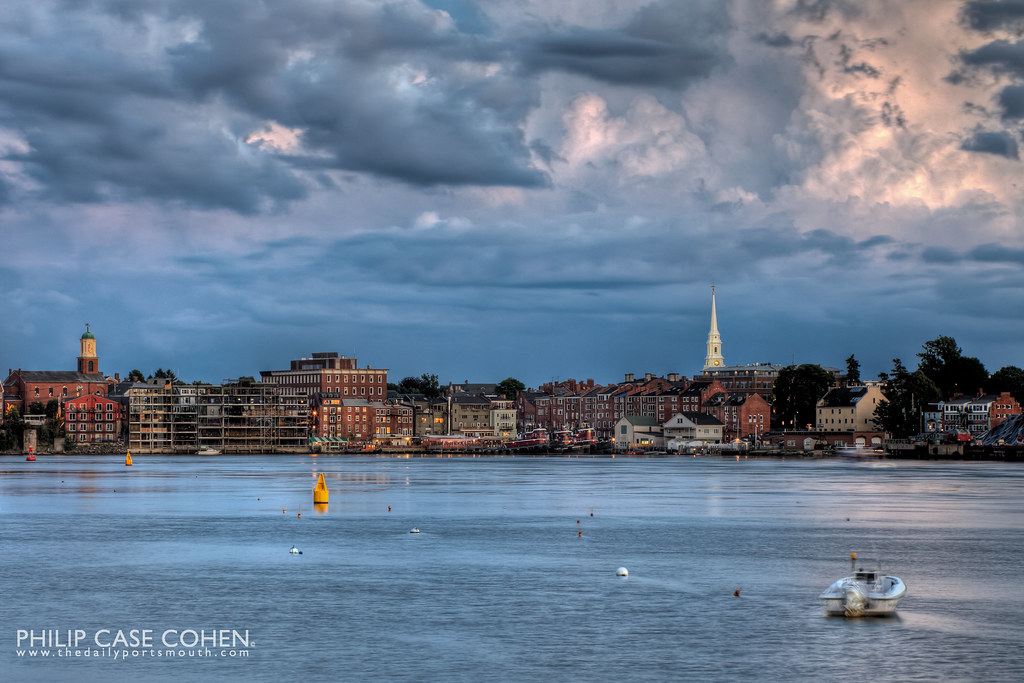 Blue Sky | Portsmouth, NH by Philip Case Cohen