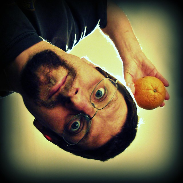 Self Portrait With Orange