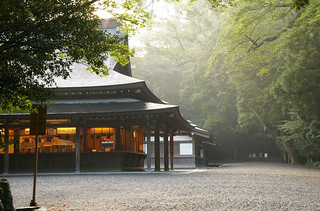 Morning at Naiku great shrine | by pelican