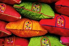 Traditional Korean pillows