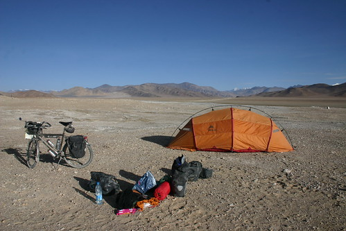 Morning camp in the middle of Nowhere....Aksay Chin Plateau, 4800m | by Nicolai Bangsgaard