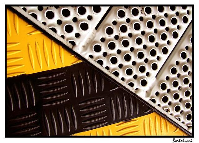 Diagonal Industrial in Thirds