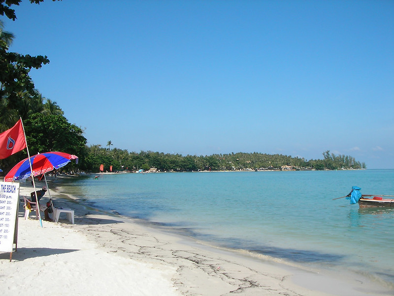 サムイ島-chaweng beach-north