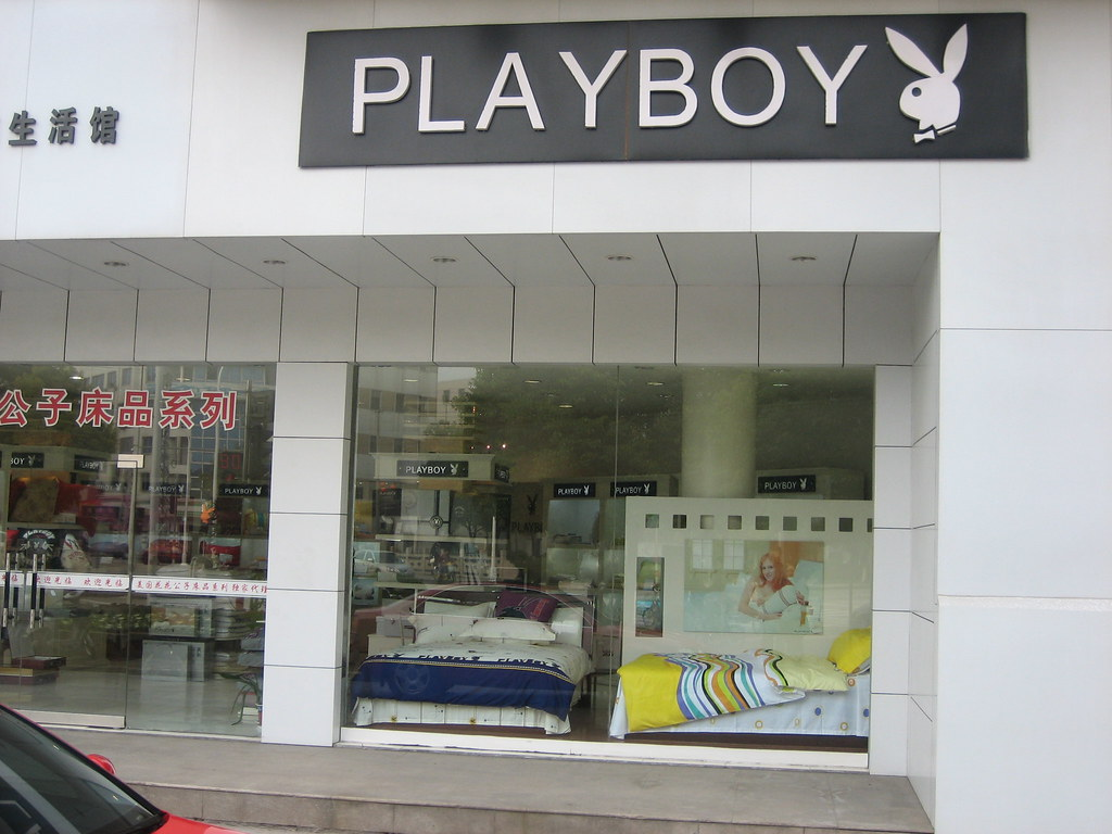 Playboy | Playboy is a popular luxury brand here. I haven ...
