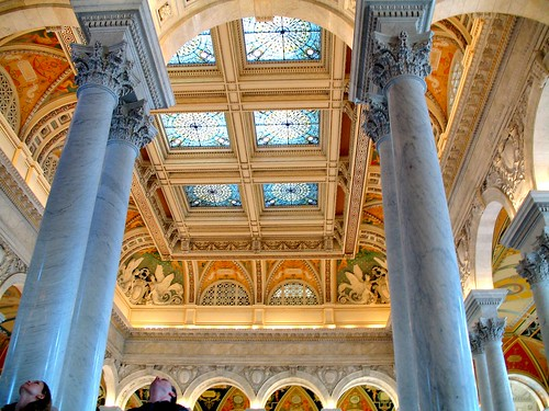 the library of congress: look something up, or just look up | by sandcastlematt
