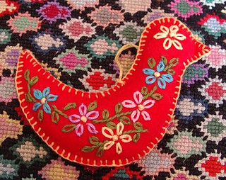 felt ornament dove | by sunshine's creations