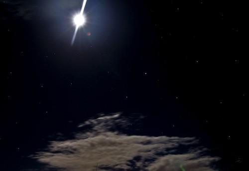 light moon black clouds stars geotagged luna lit 5bangs