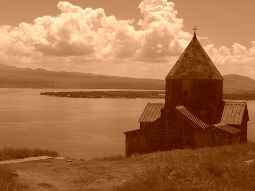 Astvatsatsin Church on Lake Sevan, Armenia | by uncorneredmarket