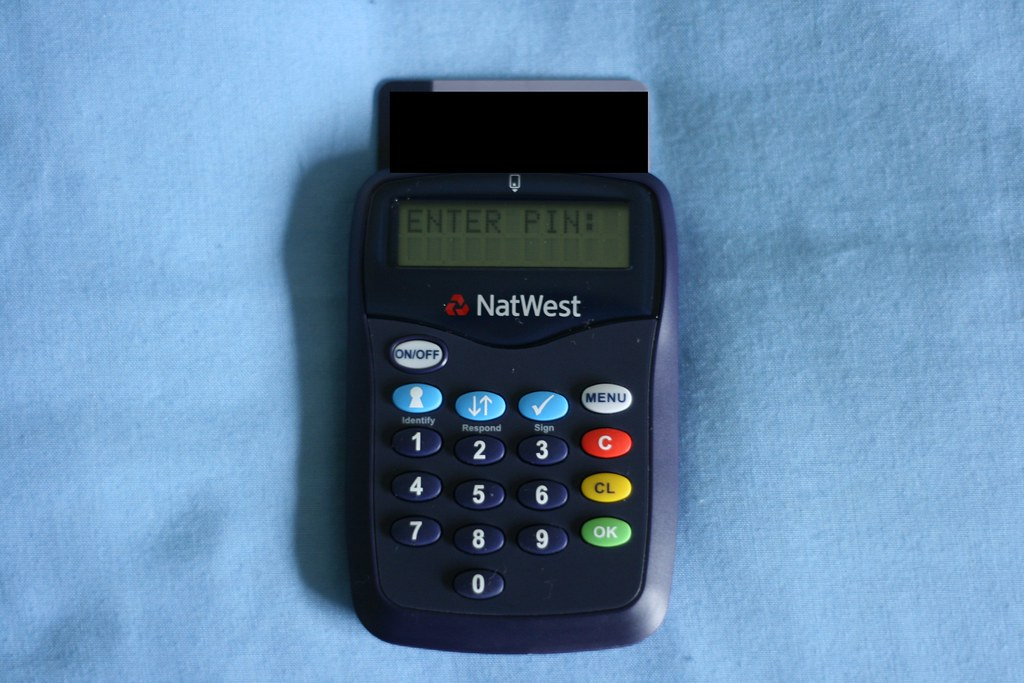 Natwest Card Reader Natwest Sent Me This Thing You Put Yo Flickr