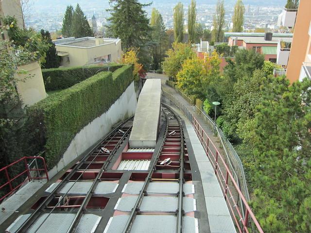 Seilbahn Rigiblick - Funicular Rigiblick in Zurich