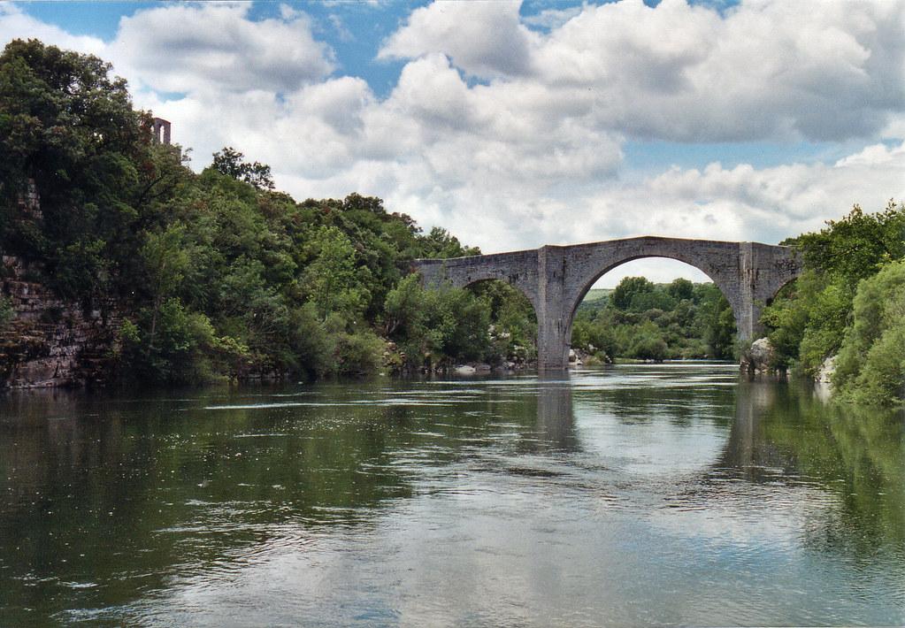 Pont De Pont De Saint Etienne D Issensac Herault France