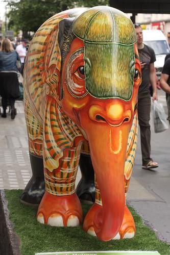 Elephant Parade # 43: Sherlock Holmes   by amodelofcontrol