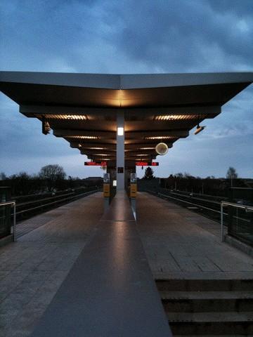 Metro station Femøren