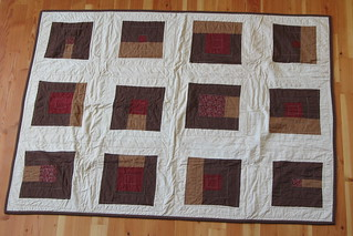 Buncha Squares Quilt - Front | by golly g