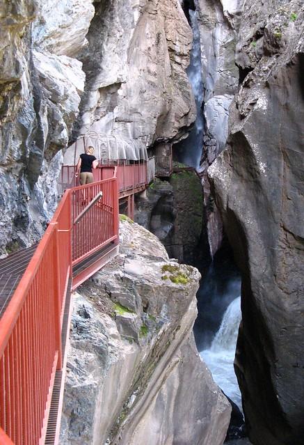 Walkway to Box Canyon Falls, Ouray, Colorado