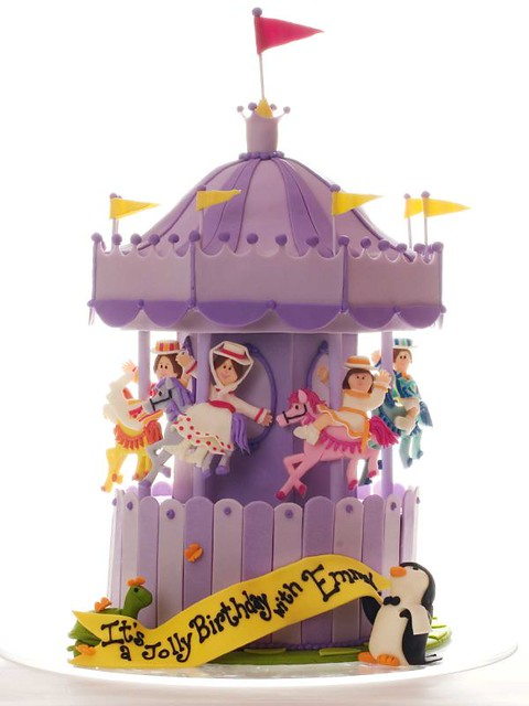 Mary Poppins Cake For More Amazing Cakes Visit Www