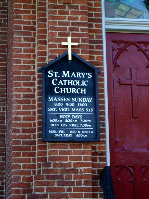St. Mary Catholic Church, Hagerstown, MD