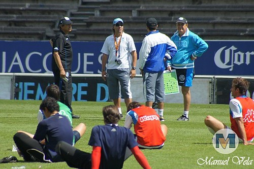 DSC00145 Entrenamiento del Puebla FC de cara a su enfrentamiento con Monterrey por LAE Manuel Vela