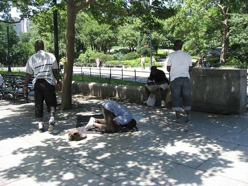 Muslims saying their prayer Central Park | by rviswana