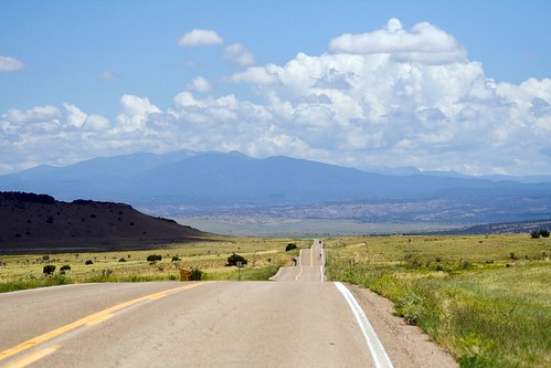 road mountains newmexico clouds summertime sangres sundaydrive sangredecristo nm41