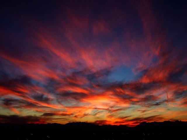 Piedmont's sunset