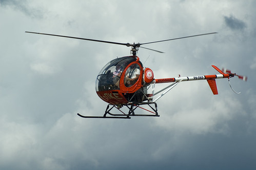 Helicopter rondvlucht | by johan wieland