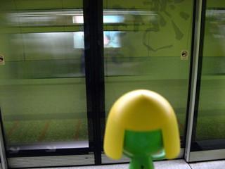 地鐵走了-_-||| | by Richy!
