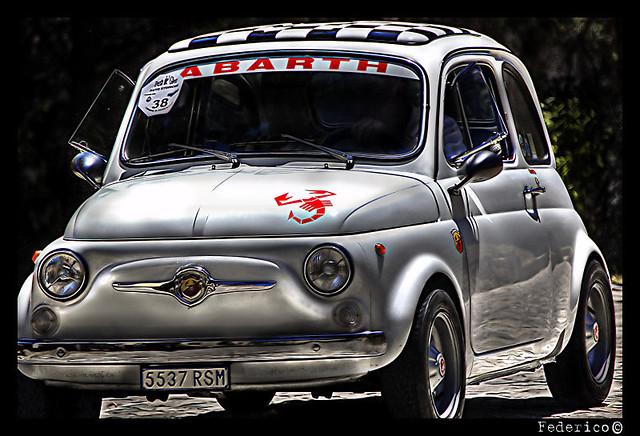 Fiat 595 Abarth Raduno Auto D Epoca S Marino Federico C Flickr