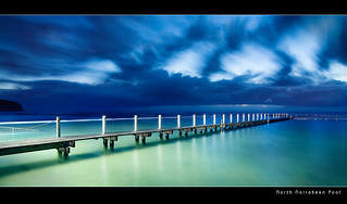 North Narrabeen Rock Pool Before Dawn | by brentbat