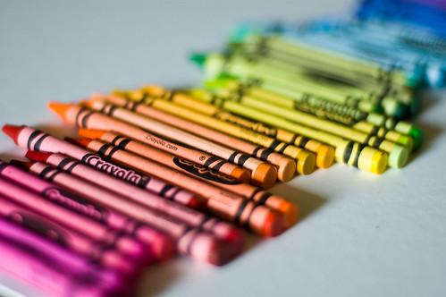 crayons   by bookgrl