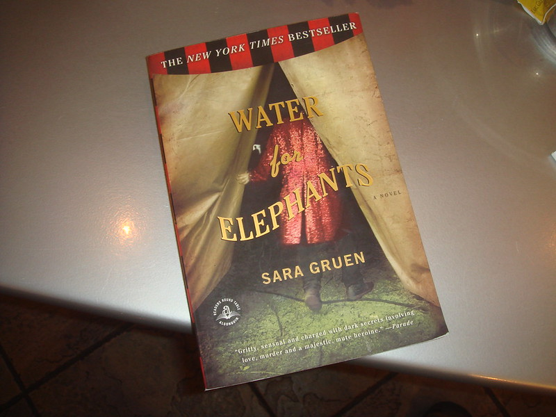 Gapers Block Book Club: Water for Elephants