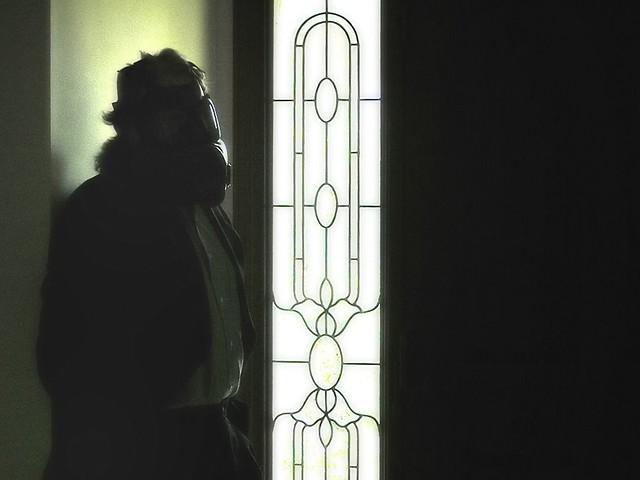 Herr Blücher Waits by the Door