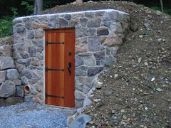 Root Cellar Project - Door finished and backfill complete | by Neuheimer