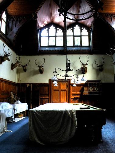 Tyntesfield Snooker Room