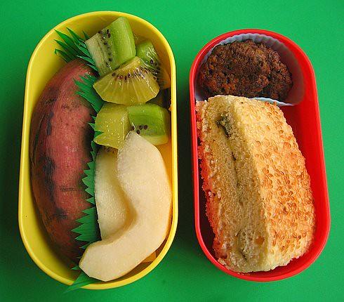 Green onion bread lunch for preschooler