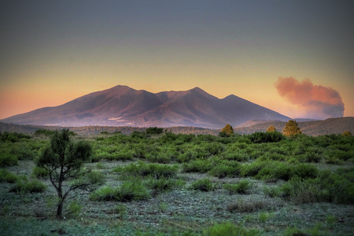 San Francisco Peaks/Schultz Fire - Flagstaff, Arizona (HDR) | by Logan Brumm Photography and Design