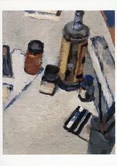 croxcard 10 hans van heirseele (1998) SCHILDERIJ 733<br /> olieverf op doek 35x27cm<br /> /uitverkocht/