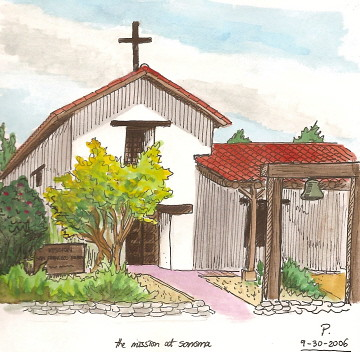 the sonoma mission